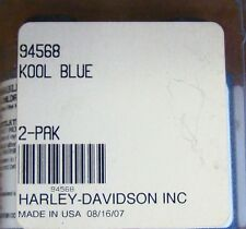 HARLEY TOUCH UP PAINT 94568 KOOL BLUE BASE/TOP COAT  2 PAK NOS OEM