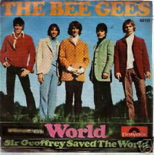 BEE GEES 45 TOURS HOLLANDE WORLD