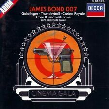 James Bond 007 Roland Shaw & His Orchestra CD 1988 Theme Song Compilation