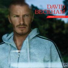 DAVID BECKHAM 2010 Official Wall Calendar 17x12 LMT EDT