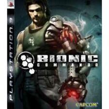 Bionic commando jeu PS3 neuf