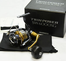 NEW SHIMANO TWIN POWER SW 6000XG  Spinning Reel  From Japan