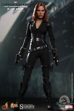 1/6 Captain America The Winter Soldier Black Widow Figure Hot Toys
