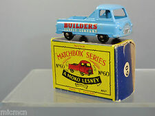 MATCHBOX MOKO LESNEY MODEL No.60a MORRIS J2 PICK-UP   'WHITE DECALS'    N MIB