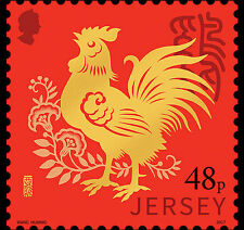 Jersey - Postfris/MNH - Year of the Rooster 2017 NEW!
