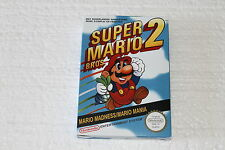 NES SUPER MARIO BROS 2 PAL BOX ONLY NO GAME NO MANUAL