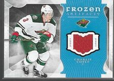 15/16 Artifacts Frozen Jersey Charlie Coyle FA-CC Wild