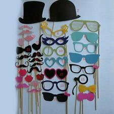 Hot Fun Photo Booth Mustache Props On A Stick Wedding Birthday Party Favor 36pcs