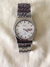 Vintage Seiko Quartz Type 2 7546 watch Made in Japan 1978