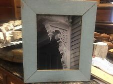 Professional photographers ART - framed photo architecture salvaged wood frame B