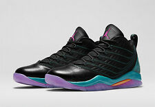 NIB MENS NIKE AIR JORDAN VELOCITY BLACK PURPLE SOUTH BEACH BASKETBALL SHOES 10.5