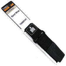 16-20mm Timex Ironman Sport Wrap Strap Black Nylon Mens Watch Band TX885141T