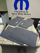 05-07 Grand Cherokee Commander Carpet Floor Mats Med Slate Gray Genuine Mopar Oe