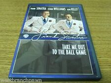 Take Me Out to the Ball Game DVD with original inserts Frank Sinatra RARE OOP!