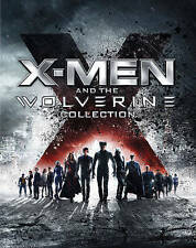X-Men and The Wolverine Collection Blu-ray Disc, 2013, 6-Disc Set