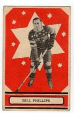 1933-34 O-Pee-Chee V304A Hockey Card #43 Bill Phillips RC