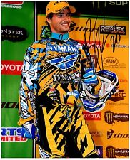 "BROC TICKLE Signed Autographed SUPERCROSS Motocross ""AMA"" 8x10 Photo B"