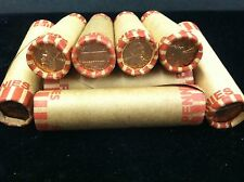 1959 Uncirculated Lincoln Cent Unopened Bank Wrapped Roll