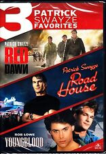 PATRICK SWAYZE TRIPLE FEATURE - RED DAWN / ROAD HOUSE / YOUNGBLOOD  REGION 1 DVD