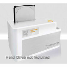 Mukii TIP-D180SU-WH 2.5in/3.5in HDD USB2.0/eSATA White Docking Station
