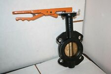 "NEW Legend Model T-337AB 3"" Wafer Type Cast Iron Butterfly Valve"