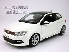 Volkswagen VW  Polo GTI Mark 5 (Mk5) 1/24 Scale Diecast Model - White