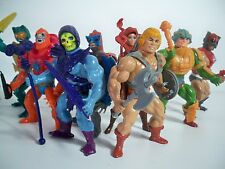 K1699102 HE-MAN LOOSE FIGURE SERIES ONE 1 SET OF 8 COMPLETE VINTAGE MOTU