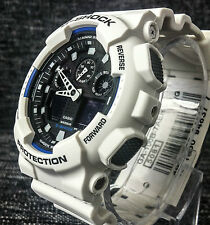 CASIO G SHOCK WHITE GA-100B-7AER X LARGE ANALOGUE & DIGITAL 200M WR BRAND NEW