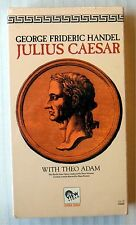 George Frideric Handel Julius Caesar ~ Opera Theo Adam Rare New VHS Movie Video