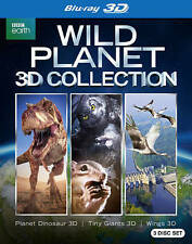 Wild Planet (Blu-ray Disc, 2015, 3-Disc Set, 3D) Brand New