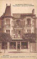 CPA 44 LA BAULE LES PINS PARIS TRIANON PARFUMERIE A.BLEUZE ORTHOPEDISTE AVENUE D