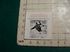 Vintage High Grade SKI brochure: STRATTON winter rates and lodging dir. 1974