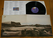 THE MOODY BLUES SEVENTH SOJOURN UK LP G/F Sleeve + Lyric Insert ~ Treshold 1972