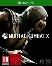 XBOX ONE game Mortal Combat X 100% UNOPENED NIP Package shipping