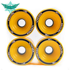 Losenka Skateboard  Downhill Board Wheels longboard wheel 75mm x 56mm Yellow
