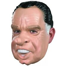 Richard Nixon Mask Adult President Costume Funny Political Halloween Fancy Dress