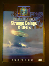 Mysteries of the Unexplained: Strange Beings & UFO's (DVD) *RARE*HTF*