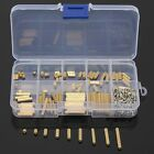 270PCS Female-Female M2 Brass Standoff Spacer and Screw Nuts Assortment Kit Case