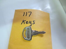 SUZUKI,T500,TS250,TS400,TS90,T125,K10,AS50 Nos oem Pre cut  Key # 117
