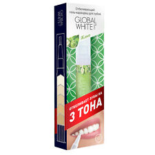 """Teeth whitening pen """"Global white"""" Apple taste, 5 ml"""