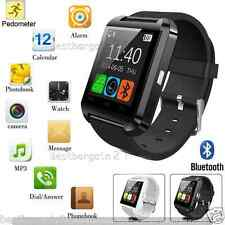New Bluetooth Smart Wrist Watch Phone Mate For Android iOS iPhone HTC Samsung