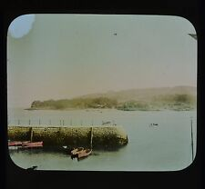 Dutch Colour Glass Magic Lantern Slide Holland North Sea Canal Netherlands