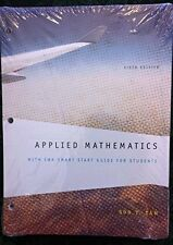 Applied Mathematics 6th Edition, Soo T. Tan,  2012, Student Edition Loose leaf