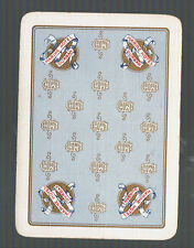 Playing Swap Cards 1 VINT WIDE ADVT MARINE HOTEL DURBAN  STH AFRICA BREWERY AD46