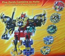 Power Rangers Jungle Fury Ultimate Megazord Disney store Exclusive New 2008