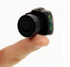 Smallest Spy Camera Hidden Video DVR Web cam | Pen keychain hook button car dash