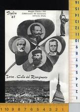 44458] TORINO - CELEBRAZIONE DEL CENTENARIO DELL' UNITA D' ITALIA _ 1961