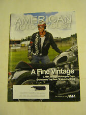 September 2010 American Motorcyclist Magazine, A Fine Vintage (BD-15)