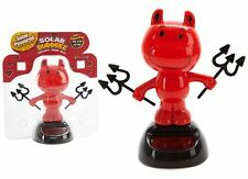 NOVELTY SOLAR POWERED DANCING DEVIL, DASHBOARD TOY, HOME OR CAR