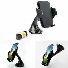 Car Dashboard Qi Wireless Charger Charging Dock Mount Holder Kit For Smart Phone